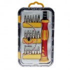 18-in-1 Multi-function Screwdriver Set / Repair Tools - Red + Yellow