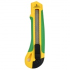 MG-01 Snap-off Blade Utility Retractable Knife - Yellow + Green