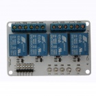 Tai Shen 4-Channel 5V Relay Module for DSP / AVR / PIC / ARM Electronic - White