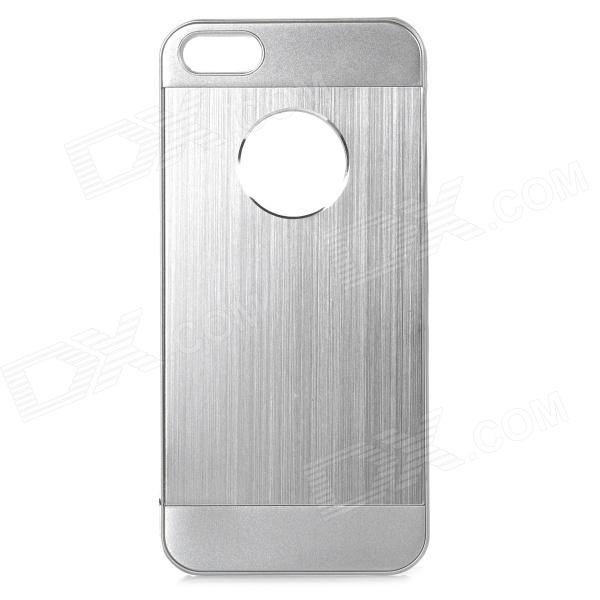 cqda Protective Aluminum Alloy Case for IPHONE 5 / 5S - Silver