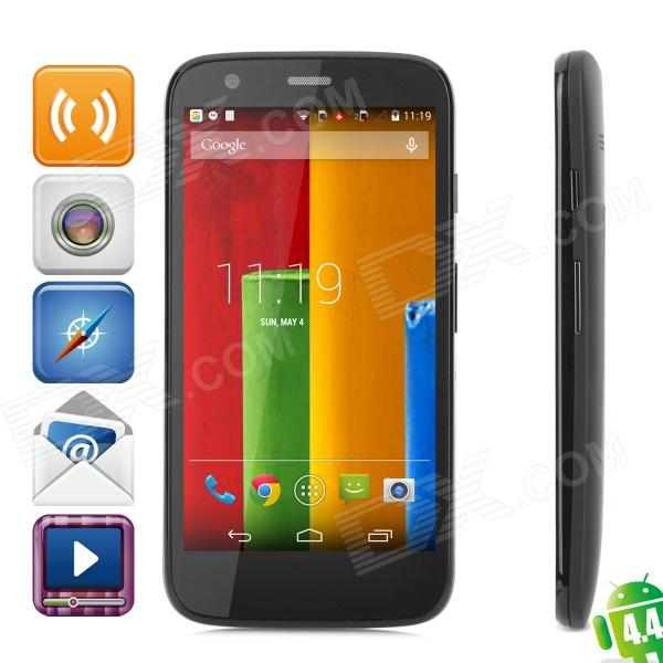 Motorola Moto G Android 4.4 Quad-core WCDMA Phone w/ 4.5 IPS, GPS and ROM 16GB - Black finesource g7 android 4 4 quad core wcdma bar phone w 5 5 4gb rom wi fi gps ota black