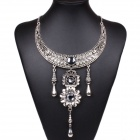 Fashionable Women's Vintage Bohemian Style  Necklace - Silver