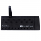 MK807IIS Android 4.2 Mini-PC Google TV Player w / 1 GB RAM, 8 GB ROM, Bluetooth, EU-Stecker - Schwarz
