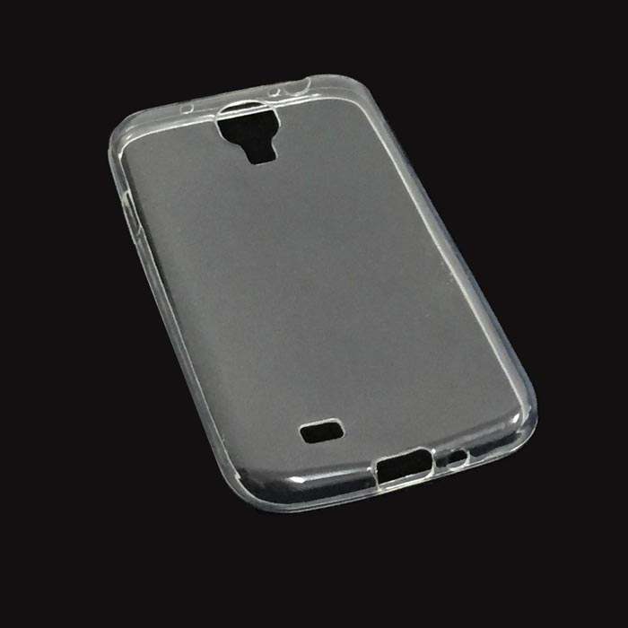 купить Protective Soft TPU Back Case for Samsung Galaxy S4 / i9500 - Translucent White недорого