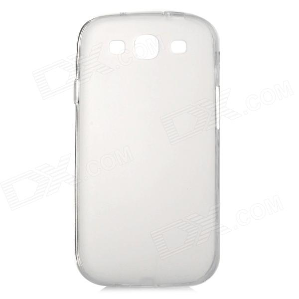 Goodlen Protective Soft TPU Back Case for Samsung S3 i9300 - Translucent White