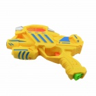 Multi-Functional Cool Gun Toy w/ Sponge Bullets - Yellow + Blue