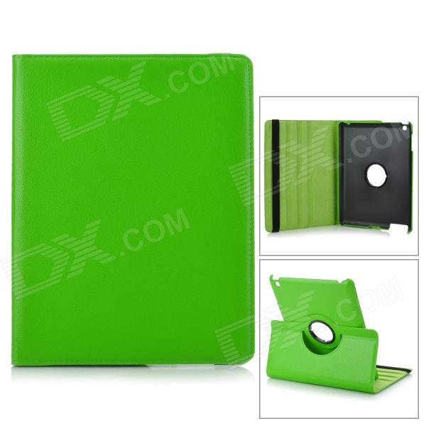 Protective PU Leather 360 Degree Rotation Case for IPAD 2 / 3 / 4 - Green asus zenfone 2 laser ze500kl 8gb white