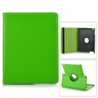 Protective PU Leather 360 Degree Rotation Case for IPAD 2 / 3 / 4 - Green
