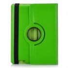 Protective PU Leather 360 Degree Rotation Case for IPAD 2/3/4 - Green