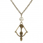 The Hunger Games Zinc Alloy Necklace - Antique Brass