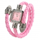 R068 Women's Bracelet Style Fashionable Water Resistant Analog Quartz Wrist Watch (1 x SR626SW)