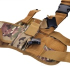 5205 Portable Outdoor War Game Legging Gun Holster - Army Green Camouflage