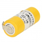 AOB 1.2V 500mAh Rechargeable Ni-CD Battery for Razor - Yellow