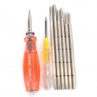 REWIN RZ-3010 Electroprobe + Screwdriver Set - Red + Silver + Yellow