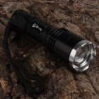 SingFire SF-338 CREE XML T6 800lm 5-Mode White Zooming Flashlight - Black (1 x 18650)