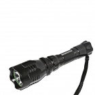Sidina A14 Cree XTE Q5 235lm 5-Mode White Flashlight - Black (1 x 18650)