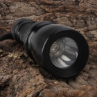 SingFire SF-917 LED 200lm 5-Mode White Flashlight - Black + Brown (1 x 18650)