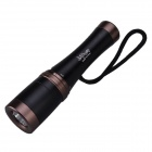SingFire SF-918 LED 250lm 5-Mode White Diving Flashlight - Black + Brown (1 x 18650)