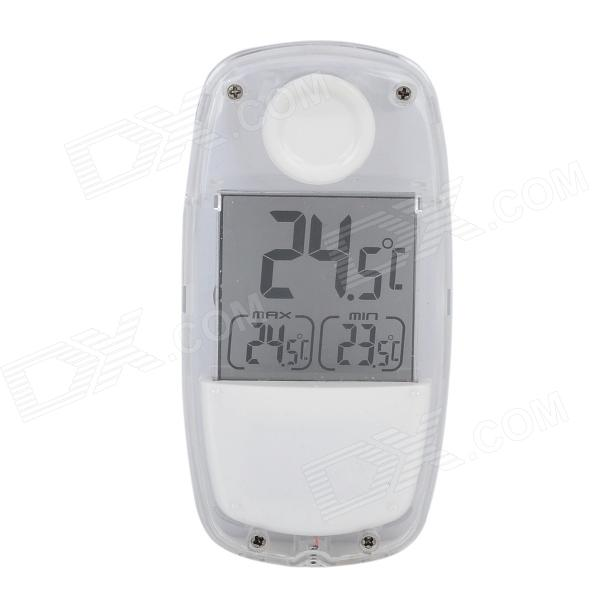 Tai Shen TS-W32 Indoor & Outdoor 1,5 '' LCD Solar Powered Thermometer - White