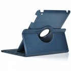 Protective PU Leather 360 Degree Rotation Case for IPAD 2 / 3 / 4 - Blue