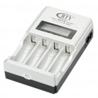 "4 x AA/AAA Battery Wall Charger with 1.4"" LCD Display (100~240V AC)"