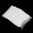 YDS-150M 3 x 150mm Self-Locking Nylon Cable Tie Wraps - White (1000 PCS)