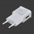 5V 2A EU Plug Power Adapter w/ Charging + Data Cable for Samsung Galaxy S5 - White