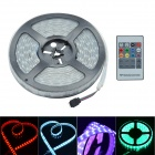 60W 12V 1800lm 600-SMD 5050 LED RGB Waterproof Double Row Decoration LED Strip (12V / 5m)