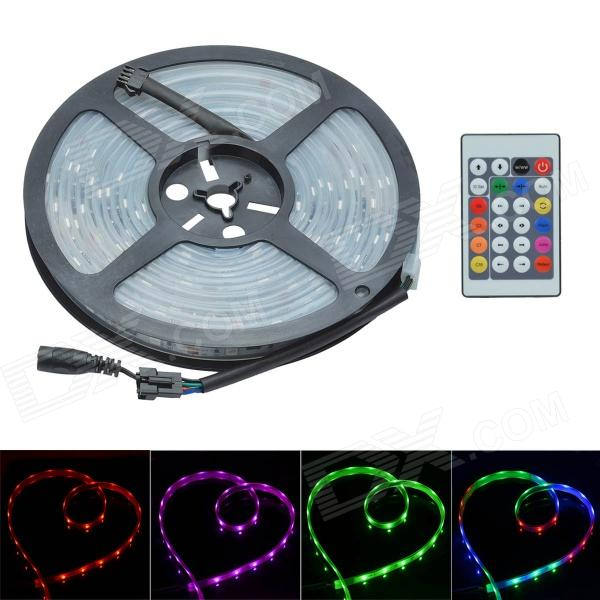 36W 12V 1200lm 150-SMD 5050 LED RGB Waterproof Decoration Light Strip Kit (12V / 5m)