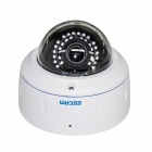 "ESCAM HD3500 Onvif 1/3 ""CMOS 1080P купольная IP-камера ж / 30-LED Night Vision / PoE - Белый"