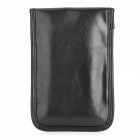 Protective Universal Radiation Protection Shielded PU Pouch Bag for Cellphone - Black