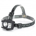 RADAR TD-001 50lm 5-Mode 5-LED White / Red Light Headlight - Black (3 x AAA)