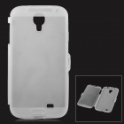 Protective Ultrathin TPU Full Body Case for Samsung Galaxy S4 i9500 - Translucent White