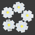 DPT-XP3535-W 1W 90LM 6500K White Light Soldering LED Lamp - White (5 PCS)