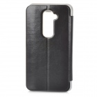 MOFI PH0005 Protective PU Leather Case Cover Stand for LG G2 - Black
