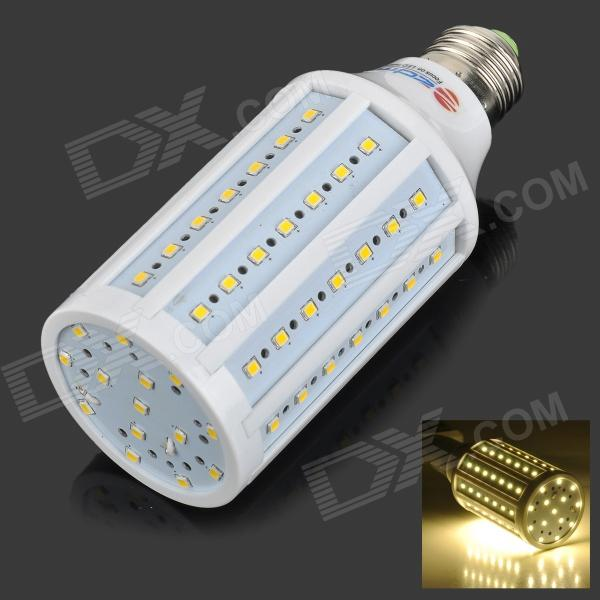 ZDM E27 13W 1200lm 3500K 84-SMD 2835 LED Warm White Light Corn Lamp (AC 220~240V) - DXE27<br>Color White + Silver Color BIN Warm White Brand ZDM Model ZDM-G09-E2713YM/WW Material Aluminum + PC Quantity 1 Piece Power Others13W Rated Voltage AC 220-240 V Connector Type E27 Chip Brand Epistar Emitter Type Others2835 SMD LED Total Emitters 84 Theoretical Lumens 1200~1300 lumens Actual Lumens 1100~1200 lumens Color Temperature Others3000~3500K Dimmable no Beam Angle 360 ° Packing List 1 x Corn light<br>