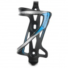 EASYDO SD-5 Outdoor Aluminum Alloy Bike Cycling Water Bottle Holder - Black + Blue