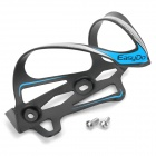 EASYDO ED-023 Outdoor Aluminum Alloy Bike Cycling Water Bottle Holder - Black + Blue