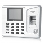 "Realand A-F261 5V 0.5A 2.8"" TFT Color Screen Fingerprint Attendance Machine - Silver"