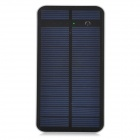 S-What SZ-2122 Solar Powered 7000mAh Mobile Power Bank w/ Touch Switch - Black + White