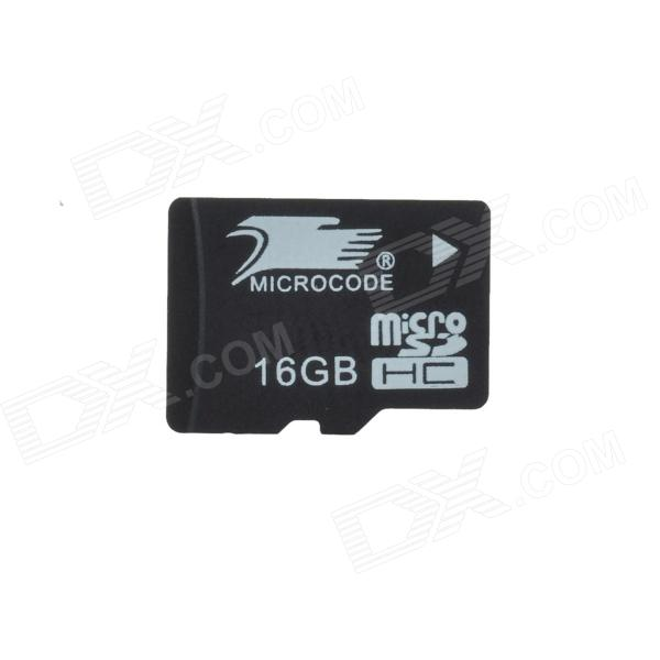 MICROCODE Class 10 TF Memory Card - Black (16GB)