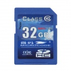 MICROCODE Class 10 SD Memory Card - Blue (32GB)