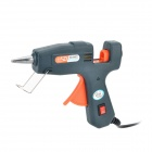 SD-A601 20W Hot Melt Glue Gun w/ Glue Sticks Set  - Black + Grey