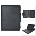 SM005 PU Case w/ Detachable USB Bluetooth V3.0 64-Key Keyboard for Samsung Galaxy Note10.1 - Black