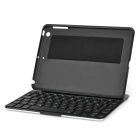 F2S Adjustable 7-Color Backlit Bluetooth Keyboard Case for IPAD MINI / IPAD MINI 2 - Black + Silver
