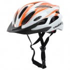 Veobike V-03 Stylish Outdoor Bike Cycling Helmet - Orange + White