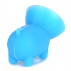 Cute Novel Piggy Style Suction Cup Silicone Holder for IPHONE / Cellphone - Blue