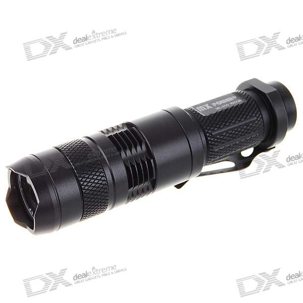 MX Power ML-310 3-Mode 180-Lumen LED Flashlight w/ Cree WC-Q5 (1*AA/1*CR123A)