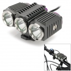 TrustFire TR-D012 3-LED 4-Mode 1200LM Cool White Light Bike Light (7.2~8.4V)