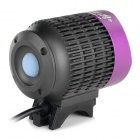 TrustFire 3-LED 3-Mode 1100LM luz branca fria bicicleta Light - Gray + Purple (2.8 ~ 4.2V)